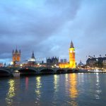 Big Ben und Westminster Bridge