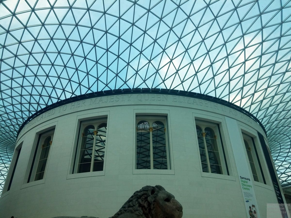 Fotos vom British Museum (Britischen Museum) in London