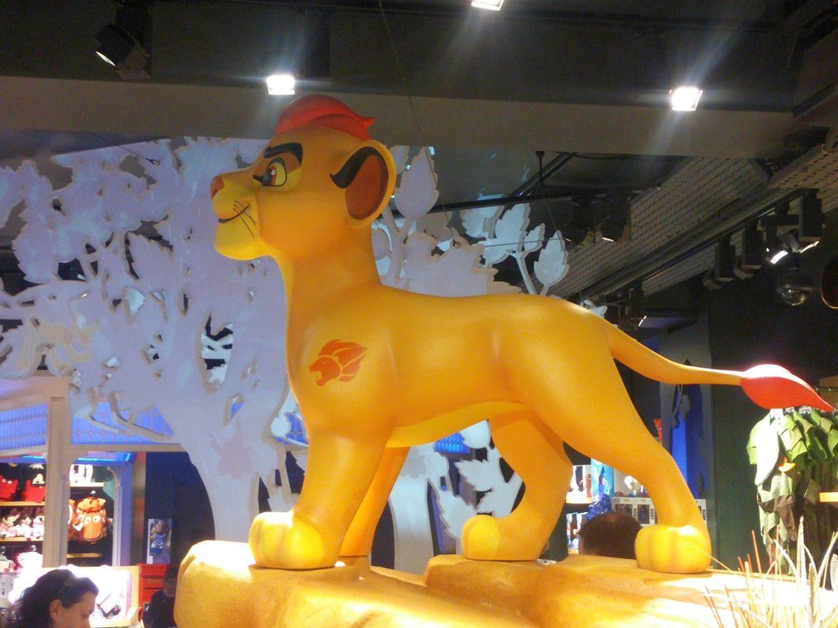 Bilder vom Disney Store in London auf der Oxford Street