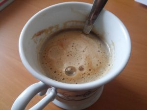 Erst mal ein Kaffee...