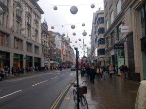 Wunderschöne Gebäude auf der Oxford Street