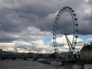 London Eye an der Themse