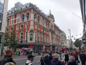 Die Oxford Street in London