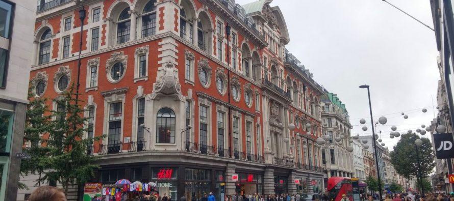 Die Oxford Street- Mein London Reisebericht (Tag 1 am Mittag – Teil 1)