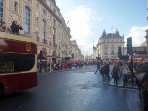 Piccadilly Circus zur Regent Street