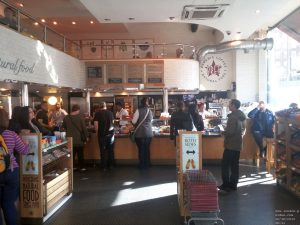 Pret a Manger in the Cumberland