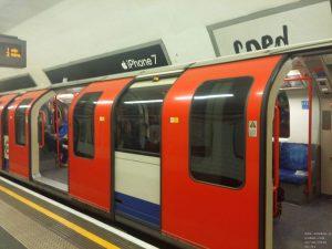 Die Tube (U-Bahn / Underground) in London