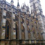 Westminster Abbey von der Seite